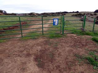 Whipsnake Trail Gate